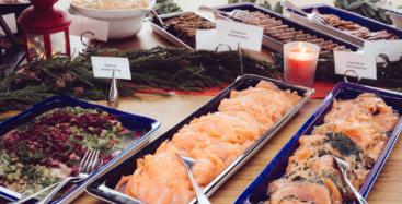 Julbord på Restaurant J
